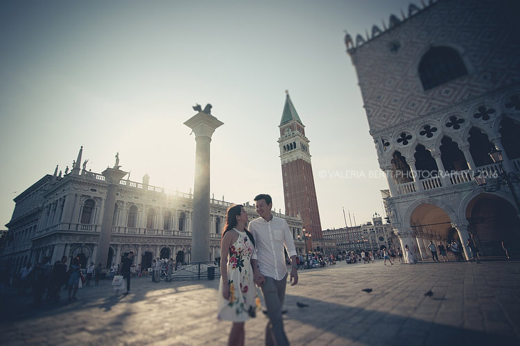Engagement  Photographer Venice The Westin Europa and Regina Hotel