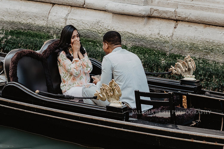 John and Beatriz from USA to Venice for a Surprise Wedding Proposal