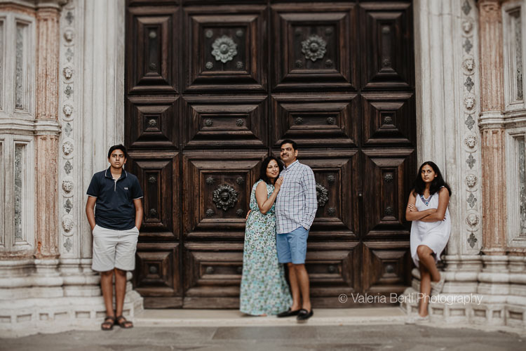 Family Portrait Session in Venice