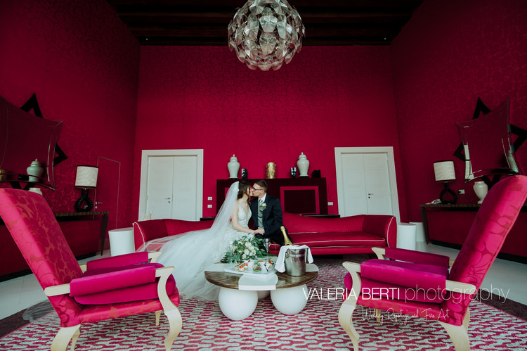 Intimate Luxury Ceremony Venice Lucie and James