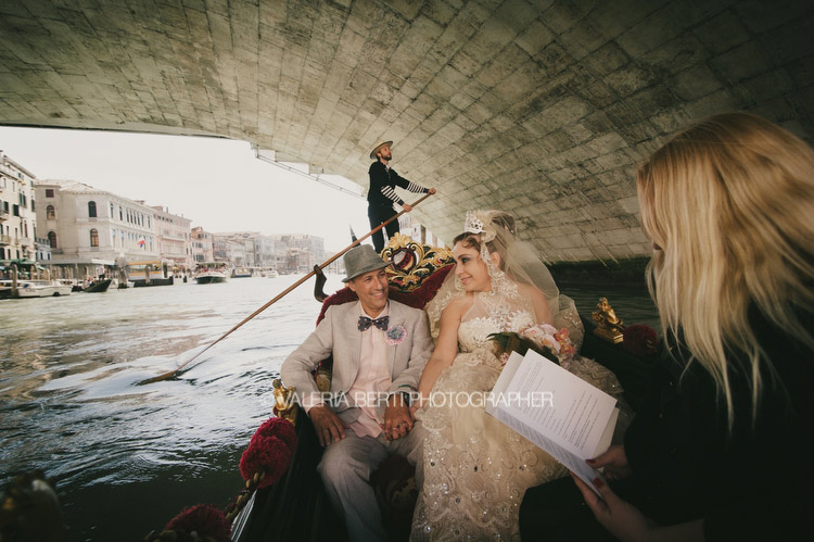 Romantic Renewal Of Wedding Vows in Venice Gritti Palace