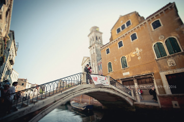Surprise Wedding Proposal Venice Erik Maysoon from Sweden