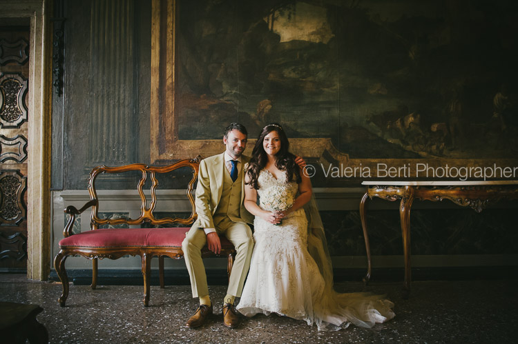 Wedding photographer Venice Cà Sagredo Chris and Nicola
