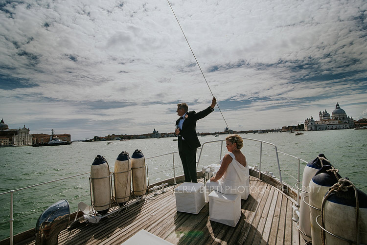 Romantic Elopement In Venice – Bauer Palace Hotel – Silver Victory Yacht