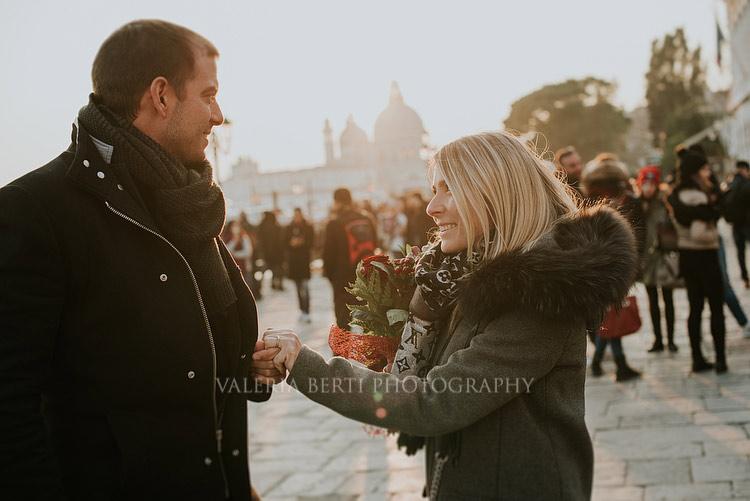 A Fall Marriage Proposal In Venice Yannick + Fanny