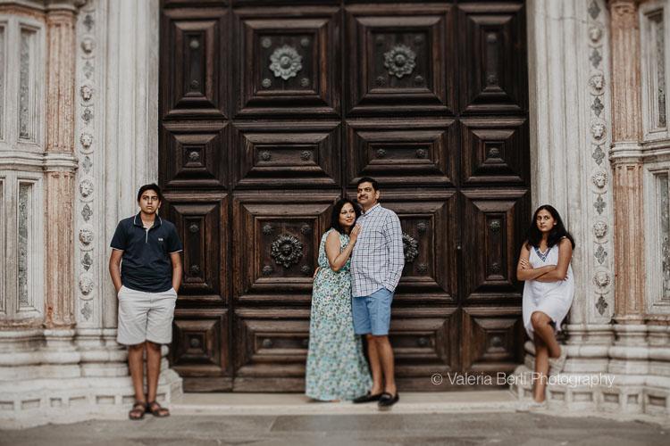Family Portrait Session in Venice
